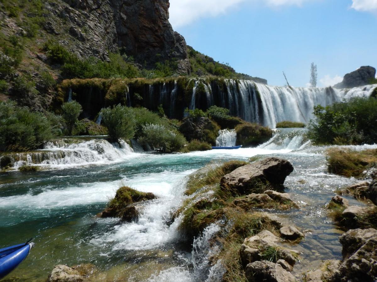 Kroatië familievakantie campingplek  Starigrad Dalmatië