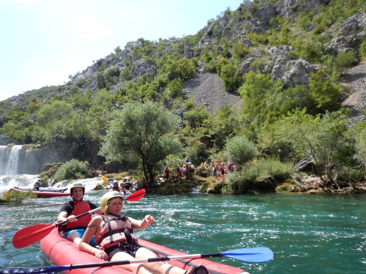 Kroatië eenoudervakantie huurtent  Starigrad Dalmatië