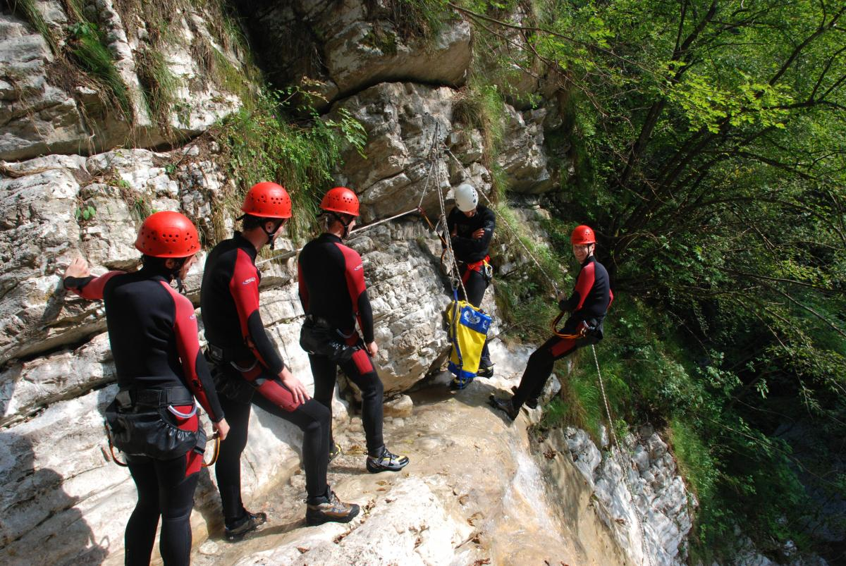 Italië special canyoning 18-28 jaar Torbole Gardameer