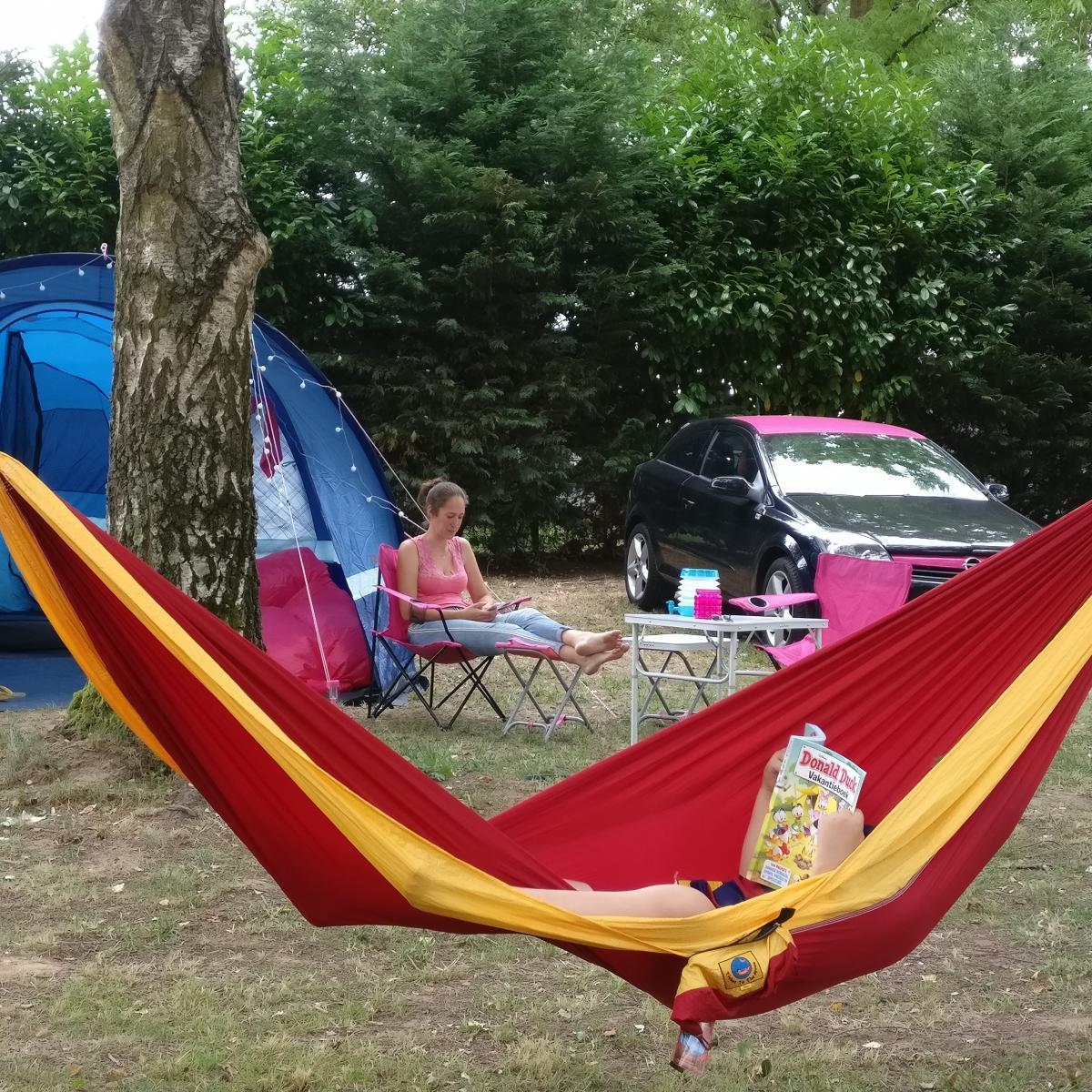 Frankrijk eenoudervakantie campingplek Pouilly sur Saone Bourgogne
