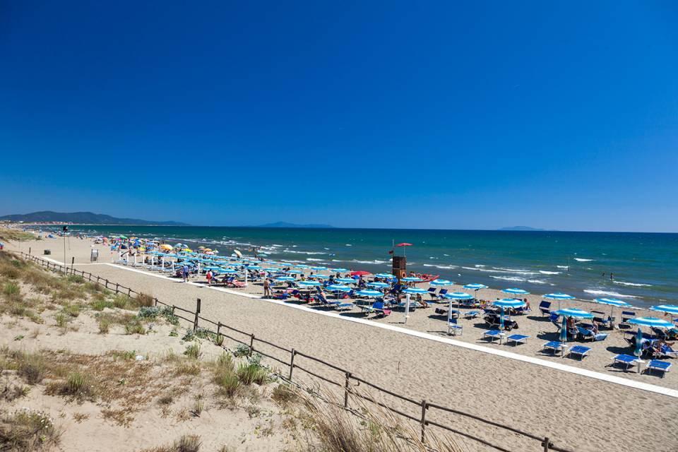 Italië strandvakantie 18-28 jaar Castiglione della Pescaia Toscane