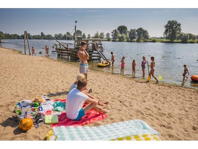 Nederland eenoudervakantie huurtent  Land van Maas en Waal