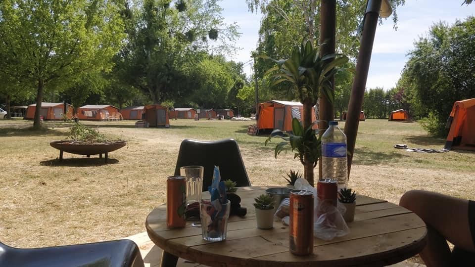 Frankrijk familievakantie campingplek Le Barrage Charnay-les-Chalon Frankrijk