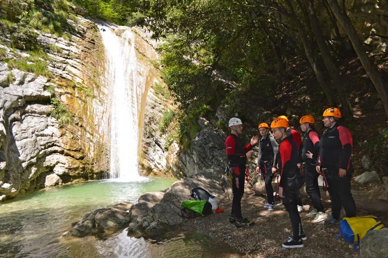 Italië special canyoning 18-38 jaar