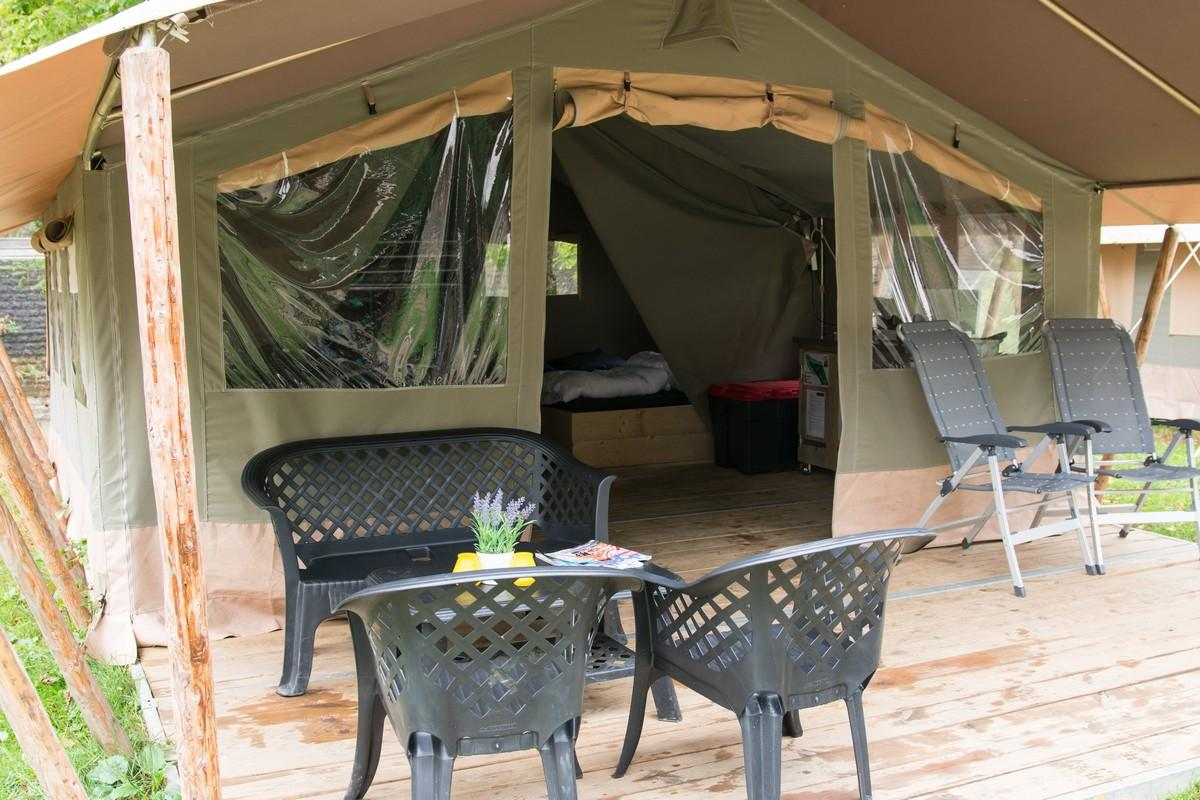 België familievakantie luxe safaritent