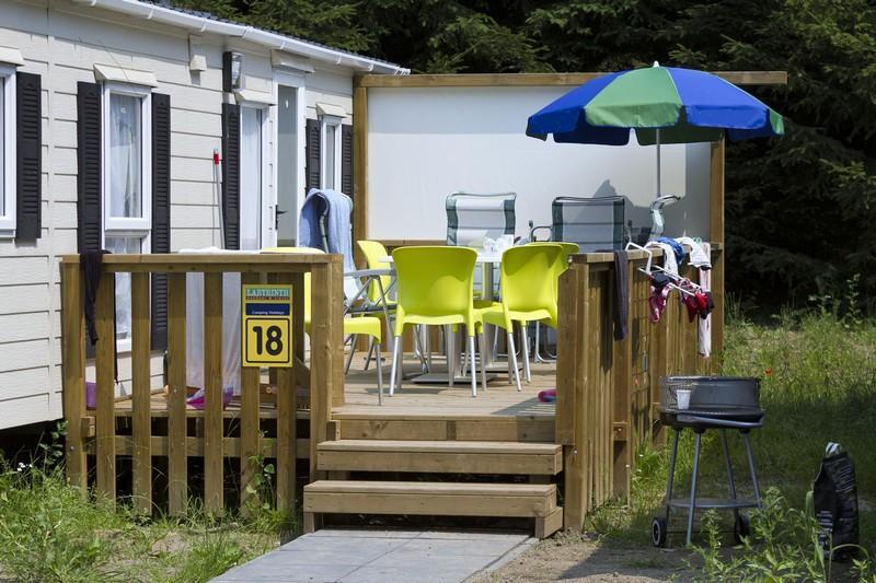 België familievakantie mobile home