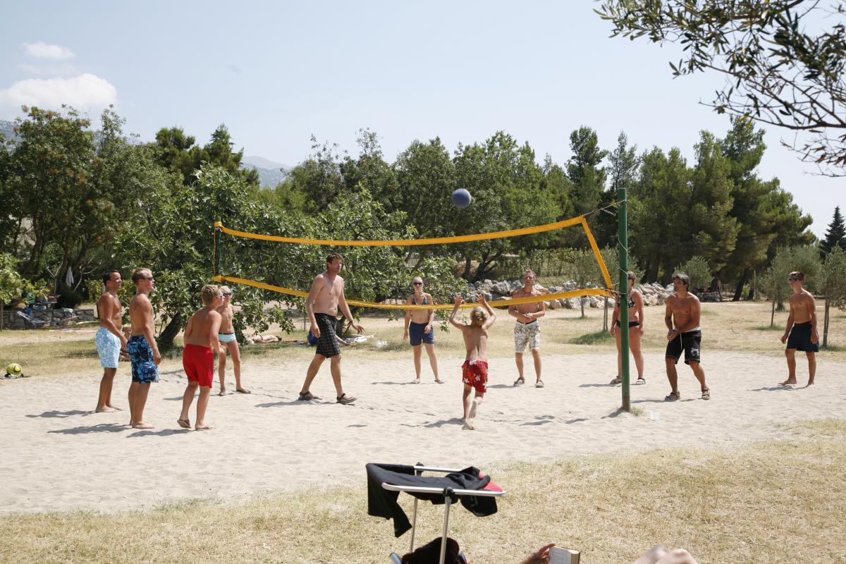 Kroatië familievakantie campingplek
