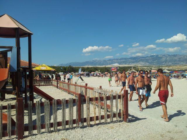 Kroatië eenoudervakantie campingplek