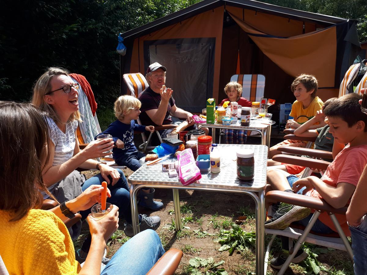 Frankrijk eenoudervakantie campingplek