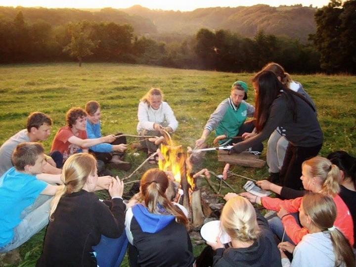 Frankrijk familievakantie campingplek Le Barrage
