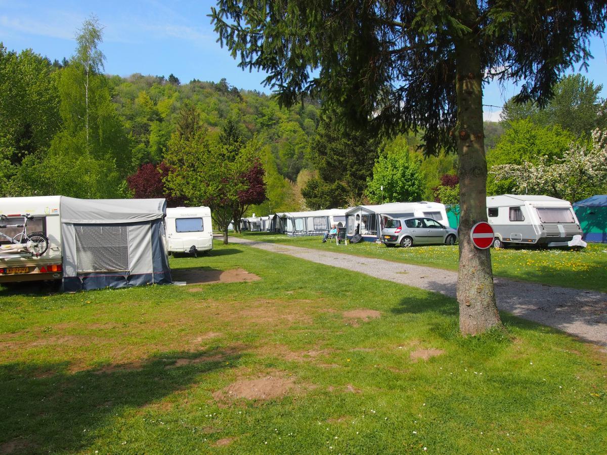 België eenoudervakantie campingplek