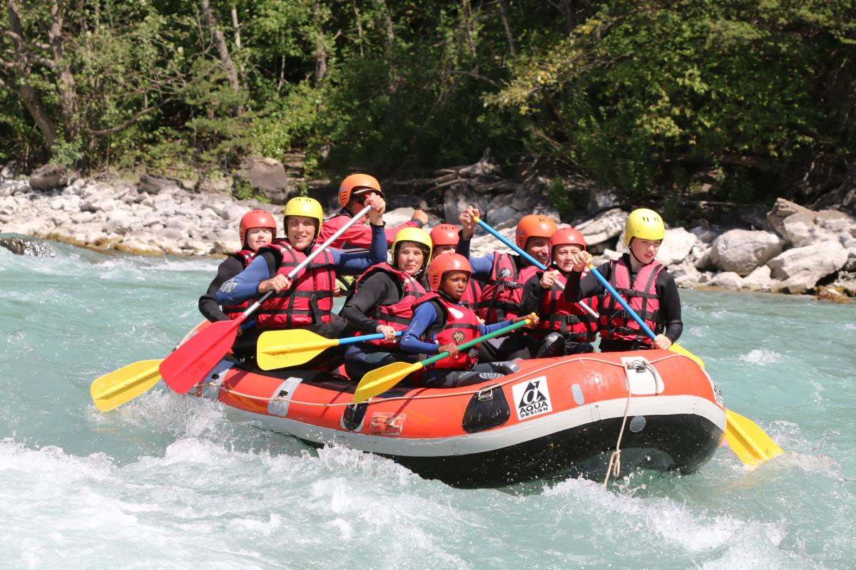 Frankrijk familievakantie huurtent St. Crépin Franse Alpen 2017