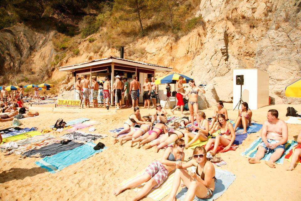 Spanje strandvakantie 18-28 jaar Blanes Spanje 2018