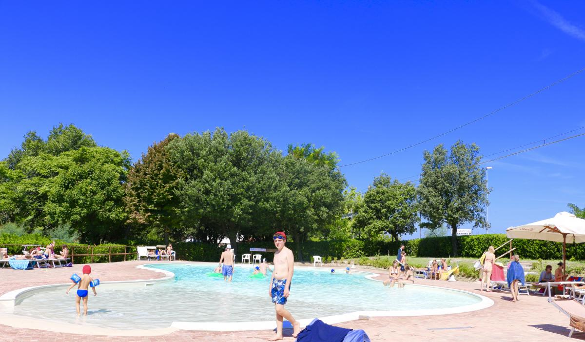 Italië familievakantie campingplek Casteldimezzo Adriatische kust 2017