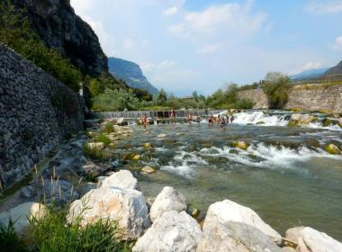 Italië familievakantie huurtent  Torbole Gardameer 2017